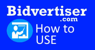 how to use Bidvertiser