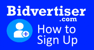 bidvertiser signup