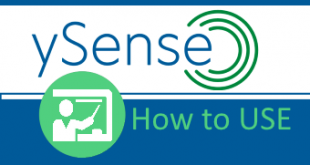 how to use ysense