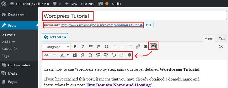 wordpress editor image