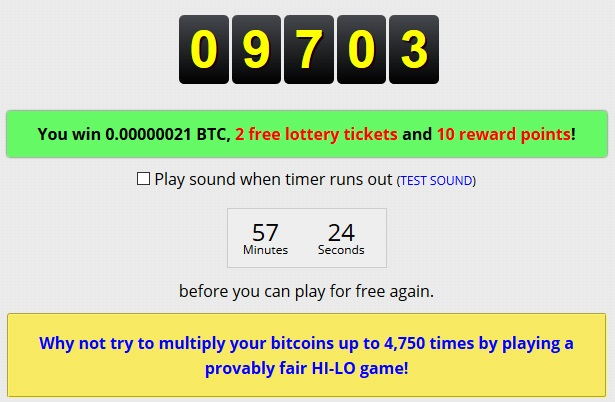 win lucky number freebitcoin