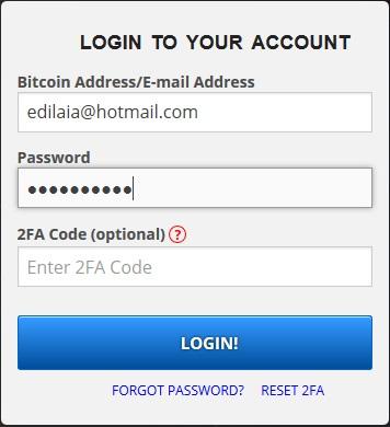 login freebitcoin