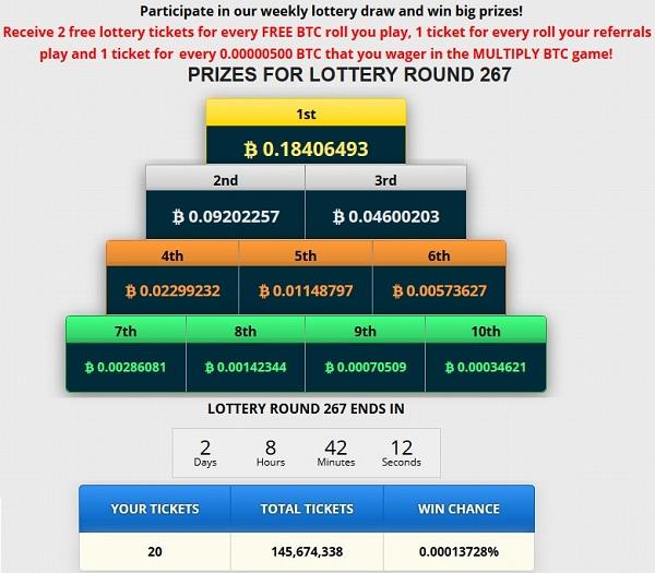 lottery freebitcoin