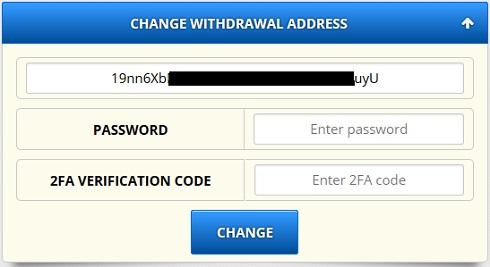 withdrawal address freebitcoin
